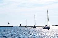 Grand Marais Harbor, Northern Minnesota.