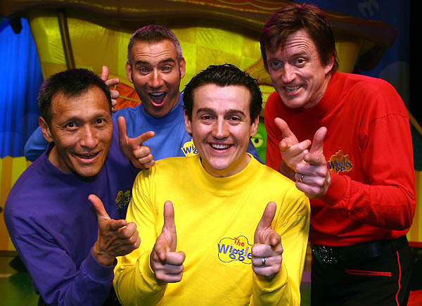 Entertainers l r jeff fatt anthony field sam moran and murray cook