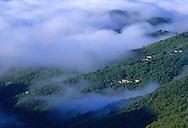 France, Languedoc Roussillon, Gard, Cevennes, Saint Roman de Codières, la vallée du Recodier