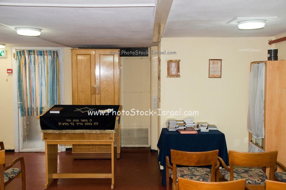 Interior of a Small Synagogue, Nof Ginosar hotel, Israel,