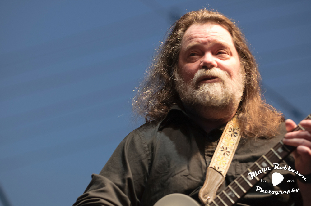 Roky Erickson of the 13th Floor Elevators, at the Nelsonville Music Festival, May 19, 2012,  photo by Mara Robinson