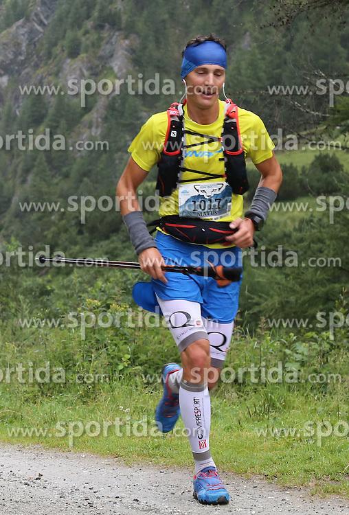 25.07.2015, Dorfertal, Kals, AUT, Grossglockner Ultra Trail, 50 km Berglauf, im Bild Matus Vnencak (SVK) // Matus Vnencak of Slovakia during the Grossglockner Ultra Trail 50 km Trail Run from Kals arround the Grossglockner to Kaprun. Kals, Austria on 2015/07/25. EXPA Pictures © 2015, PhotoCredit: EXPA/ Stringer