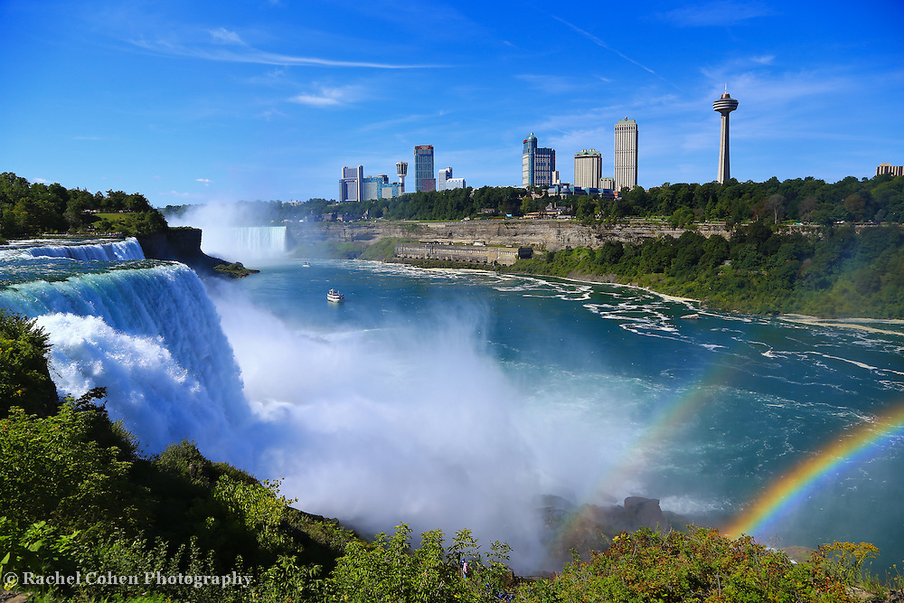 &quot;Niagara Falls&quot; 5<br /> <br /> Beauty and power of Niagara Falls with a twist of a double rainbow!!<br /> <br /> Waterfalls by Rachel Cohen