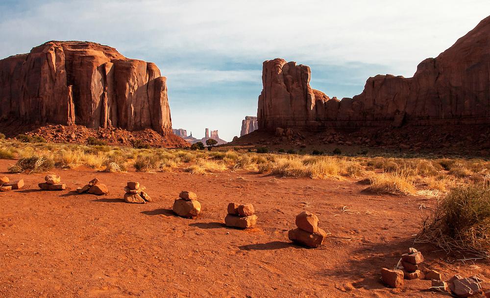 Monument Valley, Navajo Tribal Park, Utah.