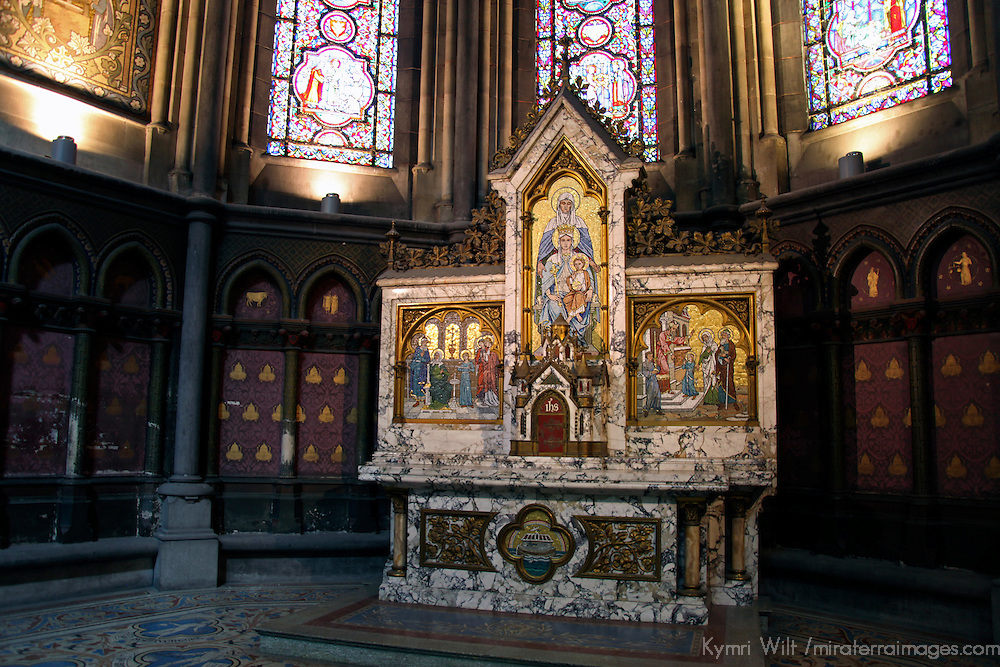 Europe, France, Lille. Sainte Chapelle of Lille Cathedral.