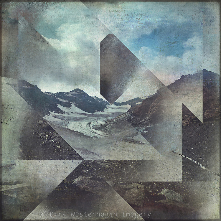 Alpine mountains with geometric graphical overlay<br /> Society6 products: http://bit.ly/2jWqWDk<br /> Redbubble Products: http://rdbl.co/2iZYxrF