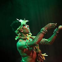 London, United Kingdom - November 2011, Season of Bangla Drama, Panchadeepmala (Five Lamps to Light) performance.