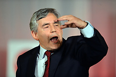 SEP 17 2014 Gordon Brown campaigning for voters to say NO