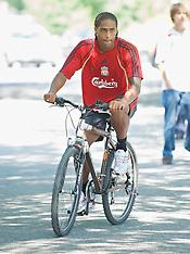 090716 Liverpool training in Bad Ragaz