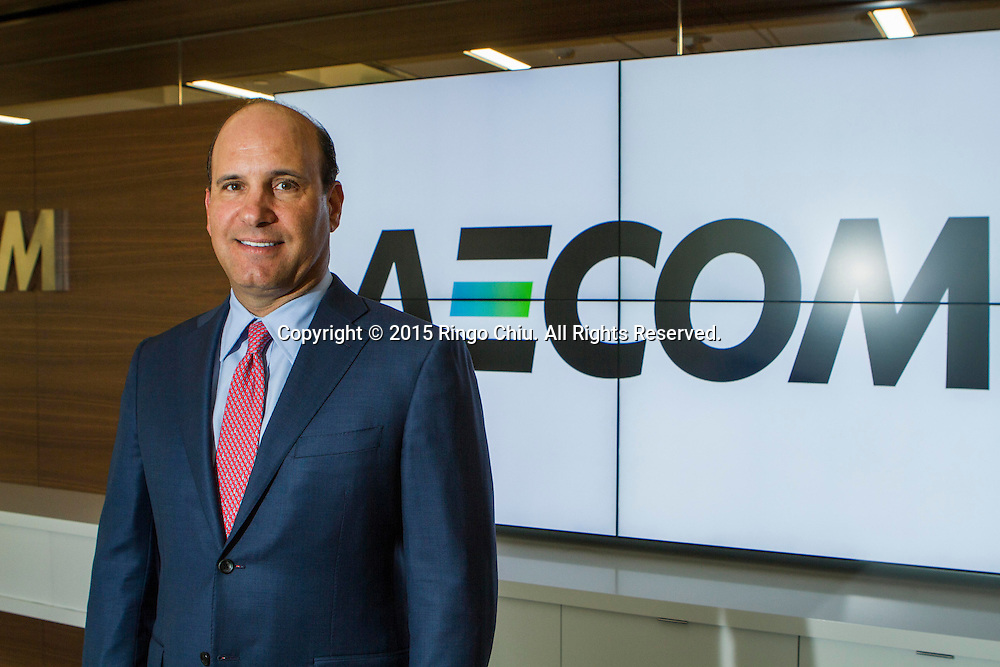 Mike Burke, CEO of Aecom.<br /> Photo by Ringo Chiu/PHOTOFORMULA.com)