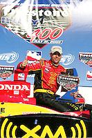 Bryan Herta wins at the Michigan International Speedway, Firestone Indy 400, July 31, 2005