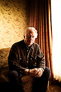 """Author Ted Bell, photographed in Aspen, CO, for Harper Collins publishers. Bell's """"Alex Hawke"""" spy thriller series includes such titles as: Tsar, Assassin, Pirate, Warlord, Spy, and Hawke."""