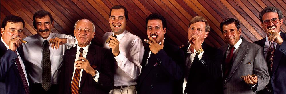 The greatest cigar-makers in the world including Hendrik Kelner, Manuel Quesada, Juan Clemente, Carlos Guillermo Leon, Carlos Fuente Jr., Modesto Garcia, Benjamin Menendez and Jose A. Seijas, Dominican Republic