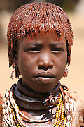 Africa, Ethiopia, Omo River Valley Hamer Tribe
