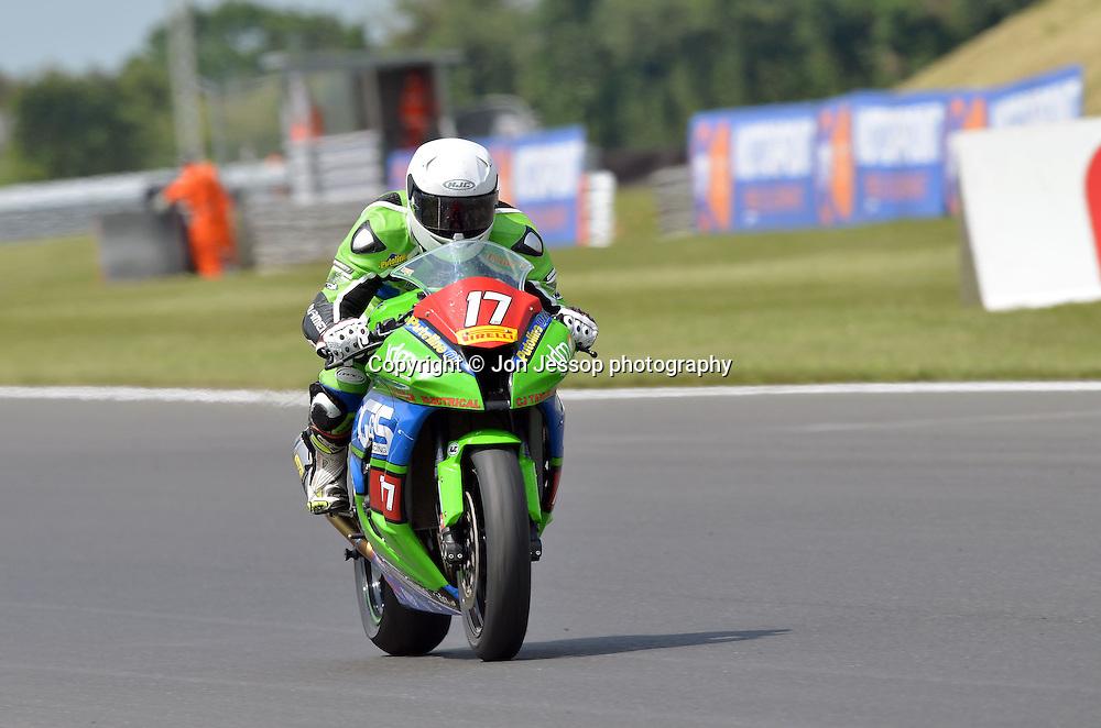 #17 Dominic Usher G&S Racing Kawasaki Superstock 1000