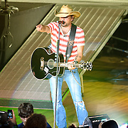 COLUMBIA, MD - July 15th, 2012 - Jason Aldean performs to a sold-out crowd at Merriweather Post Pavilion as part of his My Kinda Party Tour 2012.  (Photo by Kyle Gustafson/For The Washington Post)