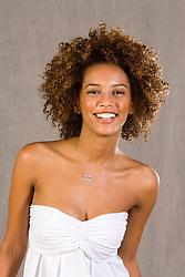 Tais Araujo, apresentadora do programa Superbonita no canal GNT. Tais eh uma jovem atriz brasileira premiada no cinema e na televisao. / Tais Araujo (born on November 25, 1978 in Rio de Janeiro) is a Brazilian actress, was the first black Afro-Brazilian actress to be a protagonist of a Brazilian telenovela, Xica da Silva (1996)