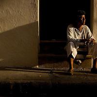 Jewelry artist in Cartagena, Colombia ..Photo by Robert Caplin..