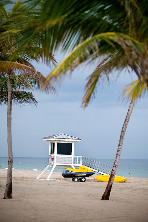 Travel story about Fort Lauderdale, Florida.Beach in Fort Lauerdale..Photographer: Chris Maluszynski /MOMENT