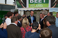 Beet Ireland And Simon Coveney at National Ploughing Championships, at Ratheniska, Co. Laois.