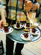 Serving tea in the Grand Bazaar