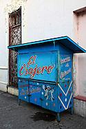 Coctel de ostiones kiosk in Bayamo, Granma, Cuba.