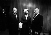 1967 - British Minister for Social Security, The Rt. Hon. Mrs Judith Harte on a visit to Dublin