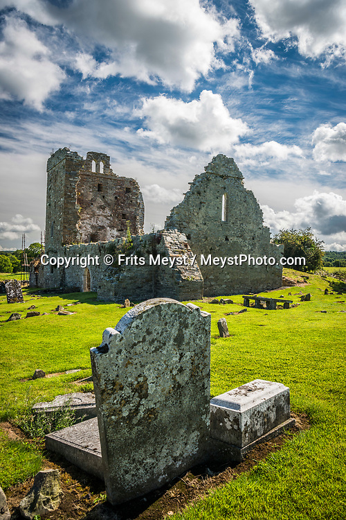 Thomastown, Kilkenny, Southern Ireland, August 2016.  The Tomb of Saint Nicholas of Myra is located 2.0 miles (3.2 km) southwest of Thomastown, in the grounds of the privately owned Jerpoint Park. St. Nicholas's Church and graveyard are in the town, where the earthly remains of St. Nicholas of Myra are said to be buried. A coastal road trip from Kilkenny to Cork via Wexford and Waterford.  Photo by Frits Meyst / MeystPhoto.com