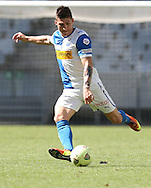 CAPE TOWN, South Africa - Saturday 26 January 2013, Steven Zuber of Grasshopper Club Zurich during the soccer/football match Grasshopper Club Zurich (Switzerland) and Ajax Cape Town at the Cape Town stadium..Photo by Roger Sedres/ImageSA