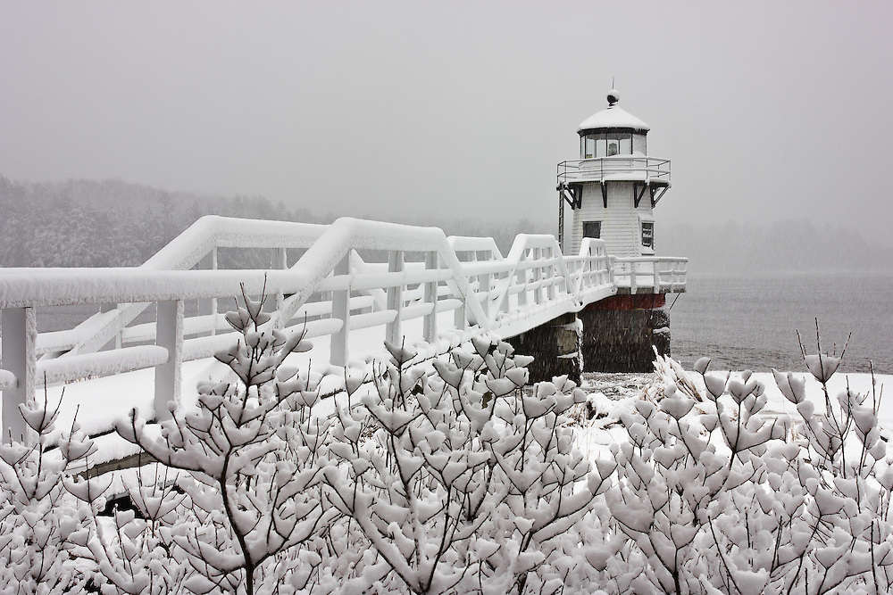I feel so lucky to live so close to this beautiful lighthouse.  It was especially beautiful in the heavy snow.
