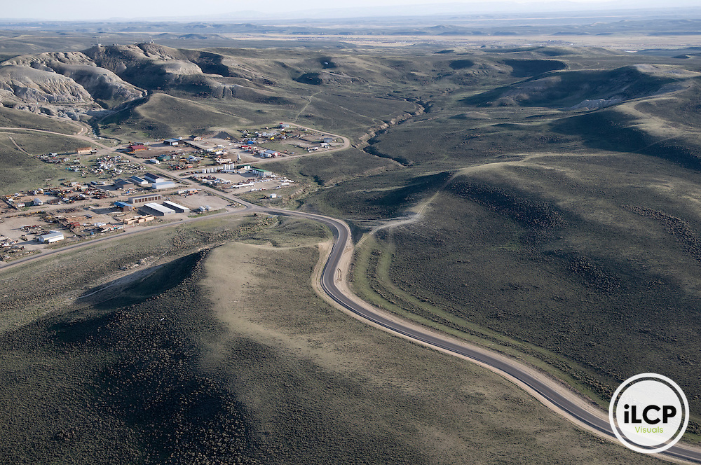 Supply area for natural gas operations near Pinedale, Wyoming.