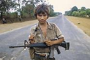 SLV11 Le Salvador civil War in 1983