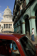 View of the Capitolio Nacional in Havana - CUBA