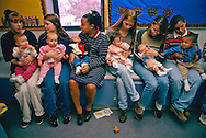 Teen moms in Nebraska learn to care for their infants and their own futures in a program that aims to keep premature parents in high school  The US has the highest teenage birthrate in the developed world.