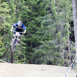 Morgane Charre gets some air.