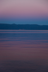 """Sunset at Lake Tahoe 9"" - This peaceful sunset was photographed from the West shore of Lake Tahoe, California."