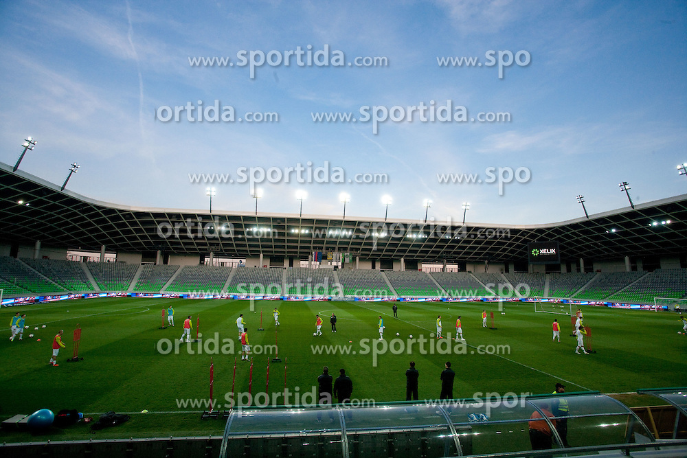Stadium Stozice during practice session of National team of Slovenia 1 day before EURO 2012 Qualifications match against Italy, on March 24, 2011, SRC Stozice, Ljubljana, Slovenia. (Photo by Vid Ponikvar / Sportida)