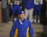 Oxford High coach Johnny Hill vs. West Point in Oxford, Miss. on Friday, October 28, 2011. West Point won 31-21...