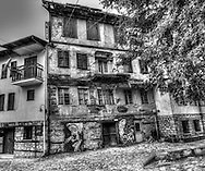 Old house in the jewish quarter of Veria