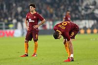 can - 17.12.2016 - Torino  Serie A 2016/17 - 17a   giornata  -  Juventus-Roma  nella  foto: la delusione di  Edin Dzeko