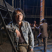 China / Shanghai<br /> <br /> Theatre Screenplayer Cao Lusheng <br /> <br /> &copy; Daniele Mattioli for That's Shanghai