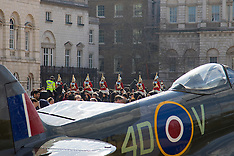 2016-03-31 Fighter planes on display in Horseguards Parade, Westminster