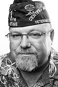 Michael Ritchey<br /> Army<br /> SGT (E-5)<br /> Nuclear Biological Warfare<br /> 1980-1992<br /> ODS<br /> <br /> Veterans Portrait Project<br /> Louisville, KY<br /> VFW Convention <br /> (Photos by Stacy L. Pearsall)