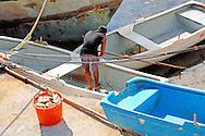 Boats in Cabot Cruz, Granma, Cuba.
