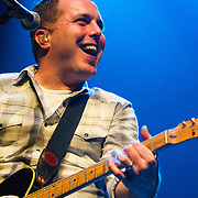 Pat Green's guitarist performing at ACL Live at the Moody Theater, Austin, Texas, January 31, 2015.