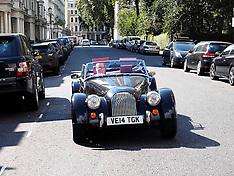 SEP 12 2014 Morgan Car Display