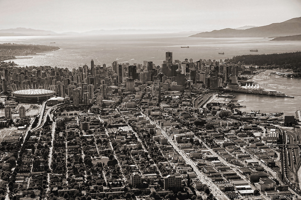 City of Vancouver & English Bay (Background)