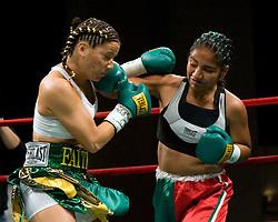 Mar 16, 2007; New York, NY, USA;  Maureen Shea defeats Eva Lidia Silva via 3rd round TKO at the Theater at Madison Square Garden.