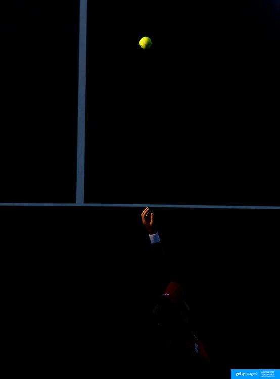 Elena Dementieva of Russia on her way victory over Agnieszka Radwanska of Poland in the Women's Quarter Final match at Medibank International Sydney Tennis Tournament on January 13, 2009 in Sydney, Australia. Photo Tim Clayton
