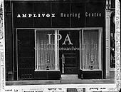 1958 Exterior of Amplivox, Nassau St.